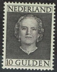 NETHERLANDS 1949 QUEEN 10G