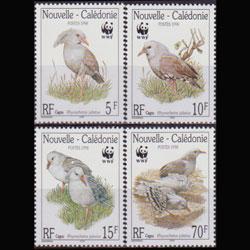 New Caledonia MNH 798-801 Birds WWF 1998