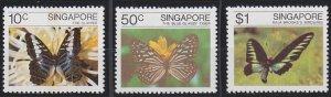 Singapore 387-389 MNH (1982)