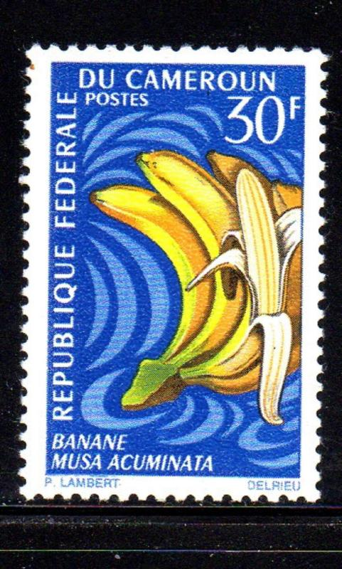 CAMEROUN #468  1967 30fr  BANANA  MINT  VF NH  O.G