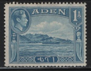ADEN, 18, HINGED , 1939-48 Aden Harbor