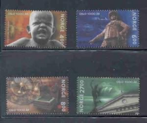Norway Sc 1249-52 2000 Oslo anniversary stamp set mint NH