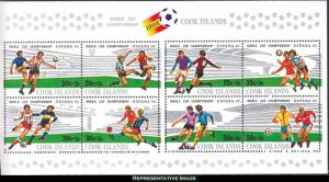 Cook Islands Scott B96 Mint never hinged.