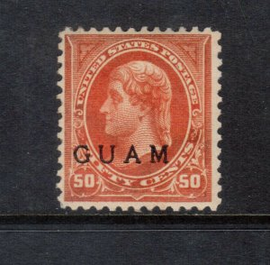 Guam #11a Very Fine Mint Original Gum Lightly Hinged