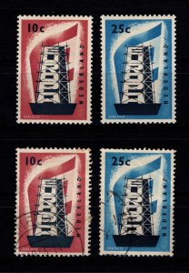 Netherlands 1956 Europa Set [Mint / Used]