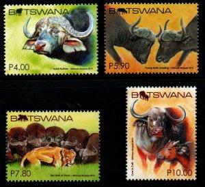 Botswana - Scott # 979-82 VF Mint Never Hinged