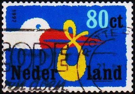 Netherlands. 1997 80c S.G.1855 Fine Used