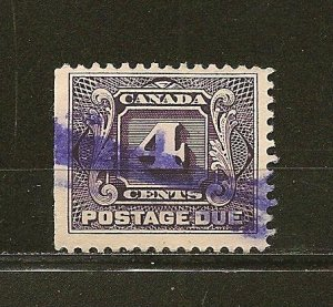Canada J3 Postage Due Used