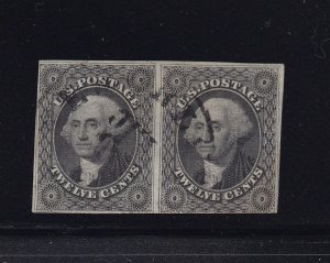 17 Pair F-VF used neat light cancel with nice color cv $ 575 ! see pic !