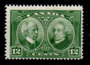 CANADA SG272 1927 HISTORICAL 12c GREEN MNH
