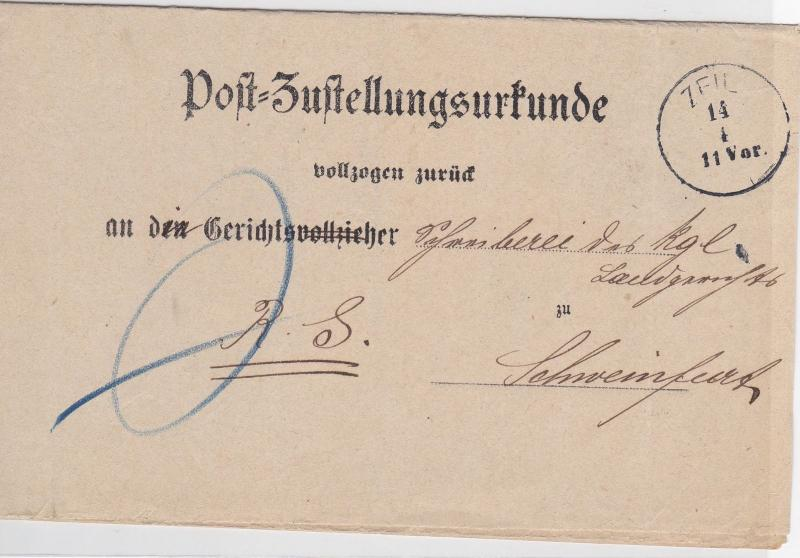 German Postal History Stamps Cover Ref: R4746