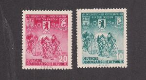 GERMANY - DDR SC# 239-40 F-VF MNH 1955