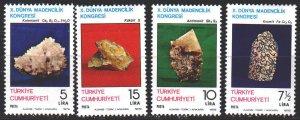Turkey. 1979. 2488-91. Minerals. MNH.