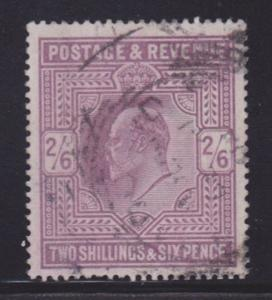 Great Britain Scott # 139 VF used neat cancel nice color cv $ 150 ! see pic !
