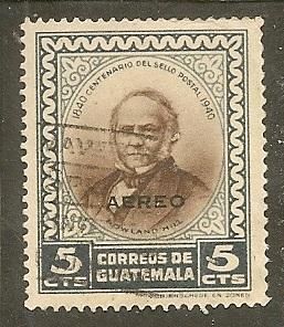 Guatemala     Scott  C140     Sir Rowland Hill     Used