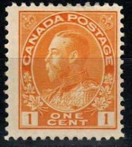 Canada #105 F-VF Unused CV $25.00 (X9685)