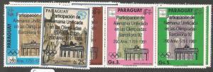 Paraguay SC 2357-8 Olympics MOG (7cjy)
