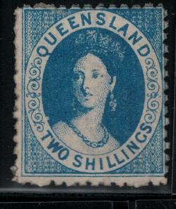 Queensland 1875-1881 SC 52c Mint SCV $175.00