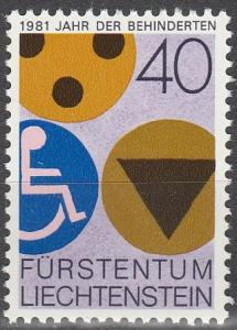 Liechtenstein #712  MNH  (S8881)