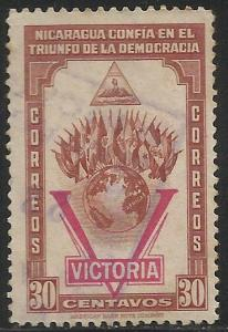 Nicaragua 1943 Scott# 690 Used