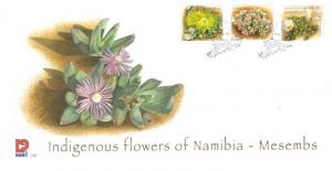 Namibia - 2007 Indigenous Flowers FDC