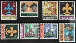 Haiti 491-495, C193-C195 Mint VF NH