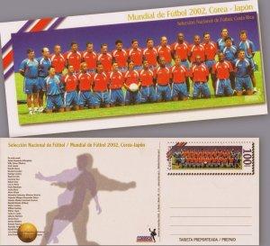 COSTA RICA NATIONAL SOCCER TEAM / WORLD CUP KOREA JAPAN 2002