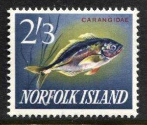 STAMP STATION PERTH Norfolk Island #60 Fish MNH -CV$3.00