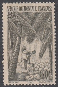 French West Africa 40 MNH CV $0.80