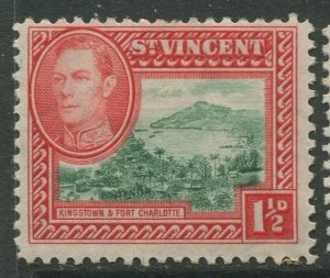 STAMP STATION PERTH St Vincent #143 KGVI Definitive Issue  MLH 1938-1947