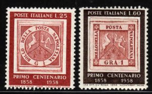Italy # 752-53 ~ Cplt Set of 2 ~ Mint, NH