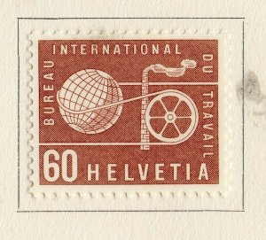 Switzerland Helvetia 1956 Early Issue Fine Mint Hinged 60c. NW-170845