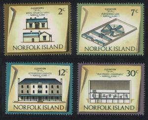 Norfolk Historic Buildings 2nd issue 4v SG#134=146