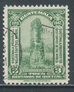 Guatemala, Sc #302, Used