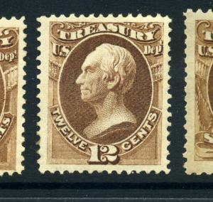 Scott #O78  Treasury Official Mint Stamp (Stock #O78-1)