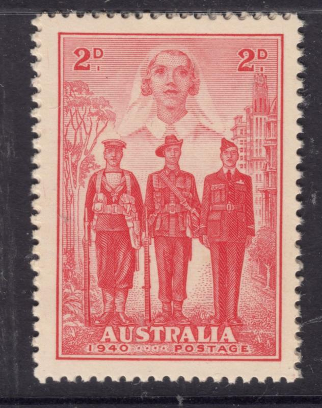 AUSTRALIA 1940 2d AIF Mint Never Hinged.
