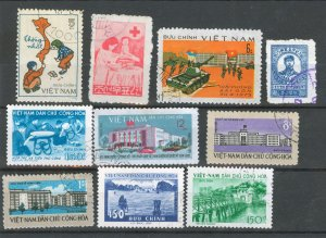 VIETNAM- STAMPS MISCELLANEOUS, USED