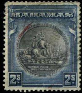 Bahamas SC# 90a SG# 131b Colony Seal 2shillings used