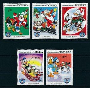 [22200] Dominica 1984 Disney Characters, Christmas MNH