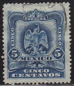 Mexico 297 Hinged Used 1899 Coat of Arms