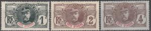 Ivory Coast #21-3 F-VF Unused CV $6.40 (A16800)