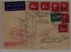 Germany Catapult card 17.9.29