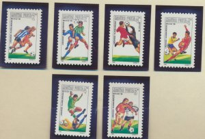 Hungary Stamps Scott #2979 To 2984, Mint Never Hinged