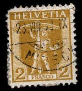 Switzerland Scott 126 William Tell Used stamp, nice cancel
