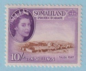 SOMALILAND PROTECTORATE 139  MINT NEVER HINGED OG ** NO FAULTS EXTRA FINE !