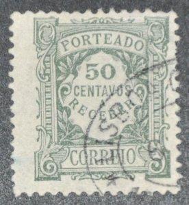 DYNAMITE Stamps: Portugal Scott #J40 – USED