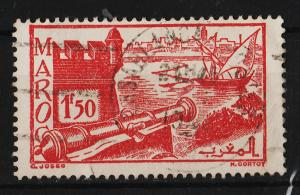 French Morocco 1945/1947 City Views 1.50Fr (1/17) USED