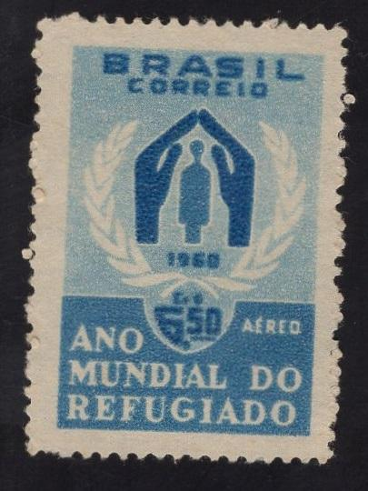 Brazil  #C94   1960  used  air  world refugee year