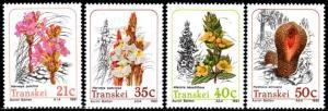 Transkei - 1991 Parasitic Plants Set MNH** SG 261-264