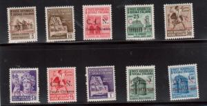 Italy Sassone #1 - #10 Very Fine Never Hinged Set **With Certificate**